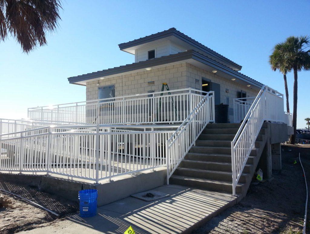 Ben T Davis Beach Structure